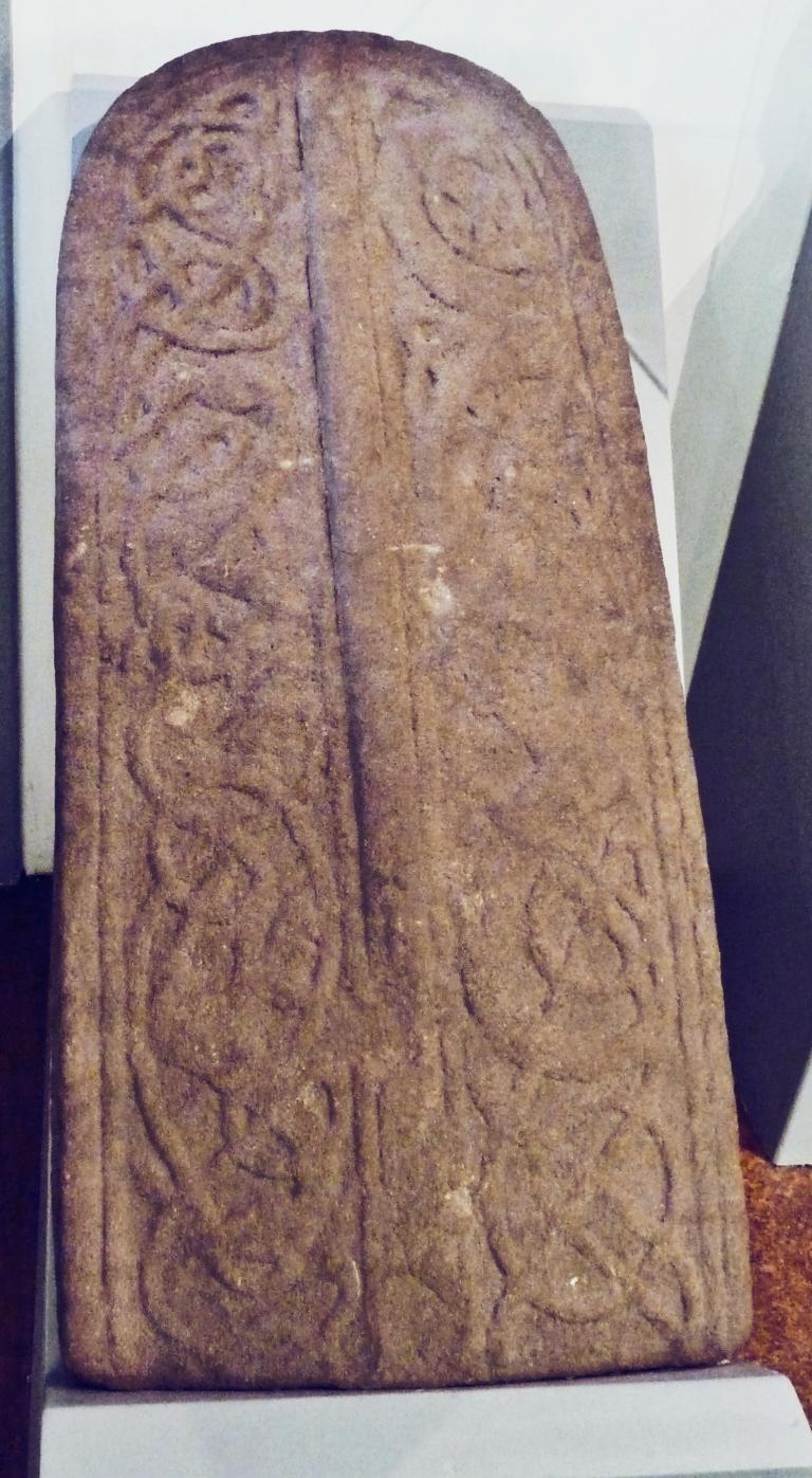 Repton Grave slab